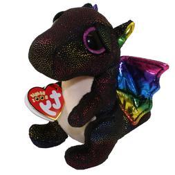 "TY 6"" ANORA the Dragon Beanie Boos Plush Stuffed Animal w/ M"