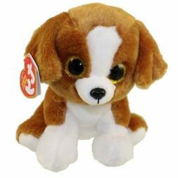 """TY Beanie Baby 6"""" SNICKY the Dog Plush Stuffed Animal Toy MW"""