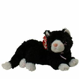 Ty Beanie Babies Booties - Black & White Cat