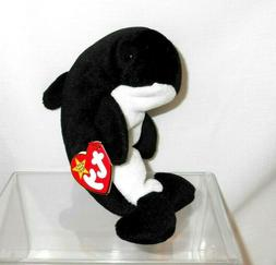 Ty Beanie Babies Echo the Dolphin with 2 errors