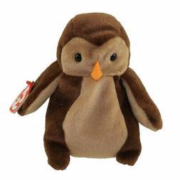 Ty Beanie Babies - Hoot the Owl