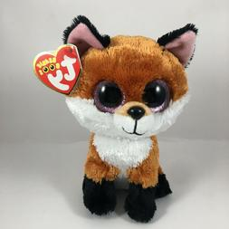 Ty Beanie Boos 6-Inch Slick Brown Fox Plush