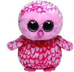 Ty Beanie Boos Buddies Pinky Pink Barn Owl Medium Plush