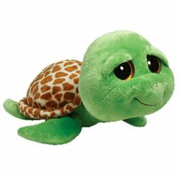 Ty Beanie Boos Buddies Zippy Green Turtle Large Plush