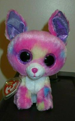 Ty Beanie Boos Cancun Chihuahua Plush, Pink