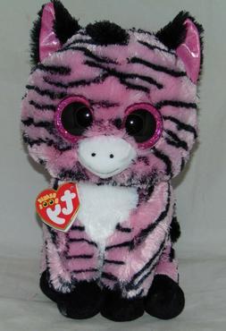 Ty Beanie Boos Zoey The Pink Zebra Plush