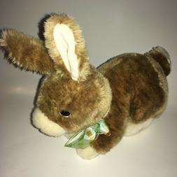 "Ty  Classic Fielding Brown Bunny 2007 9"" Plush Stuffed Anima"