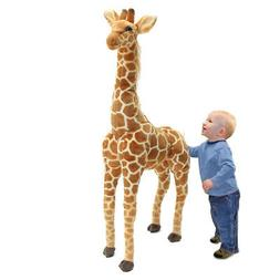 US 40'' Big Plush Giraffe Toy Doll Giant Large Stuffed Anima