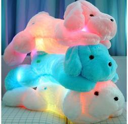 Wewill Creative Night Light LED Stuffed Animals Lovely Dog G