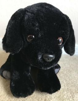 Wild Republic Sitting Black Lab Labrador Puppy Dog Plush Stu