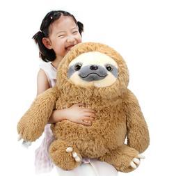 Winsterch Fluffy Giant Sloth Bear Stuffed Animal Toy Kids Br