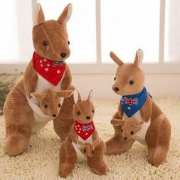 Adorable Kangaroo Collection Plush Stuffed Animal Toy Doll G