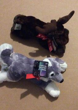 Alaska Voyage The Petting Zoo Stuffed Animal Plush Toy Lot