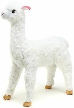 VIAHART Alana The Alpaca   3 ft Tall Stuffed Animal Big Plus