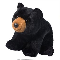 11 Inch Almond Black Bear Plush Stuffed Animal by Douglas