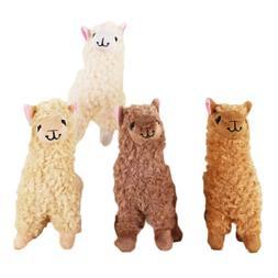 Alpaca Plush Toy 23CM Height Camel Cream Llama Stuffed Anima