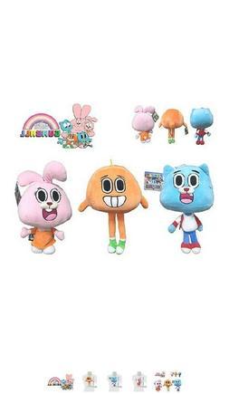 Amazing World of Gumball stuffed animals, NeW very well made
