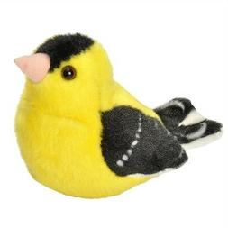 American Goldfinch - Audubon Plush Bird