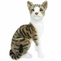 Amy the American Shorthair Cat | 14 Inch Stuffed Animal Plus