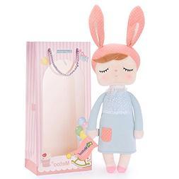 Me Too Angela Baby Doll Girl Gifts Super Soft Plush Rabbit B