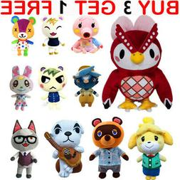 Animal Crossing Tom Nook KK Plush Toy Raccoon Soft Stuffed D