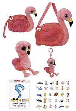 Animal TY Beanie Boos Babies Gift Set - Purse, Wristlet, Min