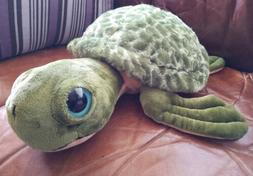 The Petting Zoo Aquatic Collection Sea Turtle Green Stuffed