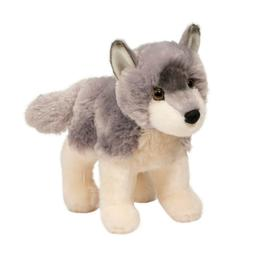 "Ashes Wolf 8"" by Douglas Cuddle Toys"