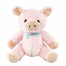 Athoinsu Pink Pig Stuffed Farm Animal Piglet Plush Toys, 9.5