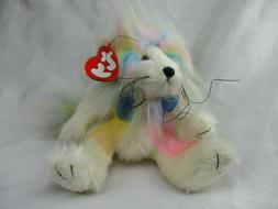 "TY Attic Treasures 8"" Plush MAJESTY LION  Fully Jointed Past"