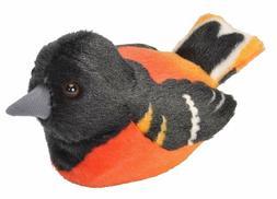 Wild Republic Audubon Birds Baltimore Oriole Plush with Soun