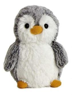 """Aurora 9789 World 6"""" Pompom Mini Penguin, Grey and White"""