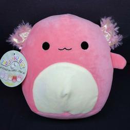 """Axolotl Squishmallow 8"""" Plush Stuffed Animal Kellytoy 2020"""