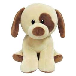 Baby TY - BUMPKIN the Brown Dog  - MWMTs Stuffed Animal