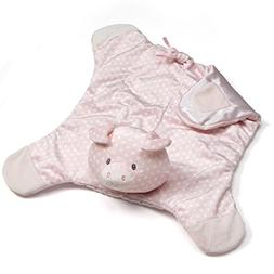 Baby GUND Roly Polys Pig Comfy Cozy Blanket Stuffed Animal P