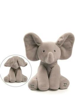 GUND Baby Animated Flappy The Elephant Stuffed Animal Plush,