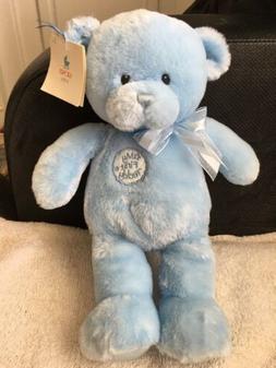 baby blue my first teddy plush stuffed