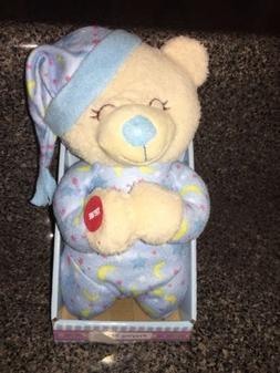 Baby Boy Praying Bear Stuffed Animal Talking Now I Lay Me Do