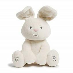 "Baby Gund Flora The Animated Bunny 12"" Plush Stuffed Animal"