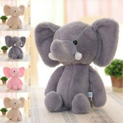 Baby Kid's Mini Cute Cartoon Elephant Soft Plush Toy Stuffed