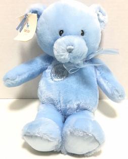 Gund Baby My First Teddy Blue Plush Bear 58897 Stuffed Anima