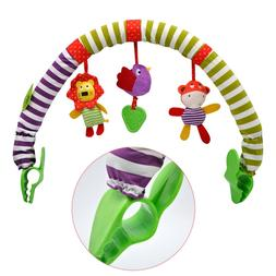 Baby Play Rattles Bed <font><b>Clip</b></font> Hanging Bell