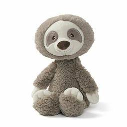 "Baby GUND Reese Sloth Plush Stuffed Animal Taupe 12"" Toothpi"