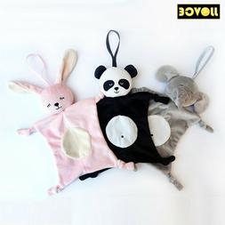 Baby Soft Towel Soothing Toy Rattle Plush Security Blanket S