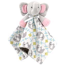 Zooawa Baby Security Blanket, Soft Stuffed Animal Elephant P