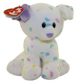 "Ty Baby Ty Sprinkles Speckled Dog Stuffed Animal, 13"""