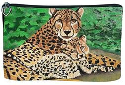 Cosmetic Bag, Zipper Pouch - Zip-top Closer - Taken from My