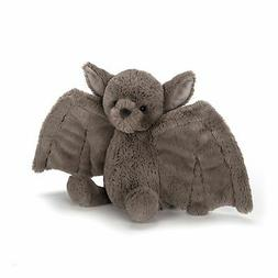bashful bat stuffed animal small 7 inches