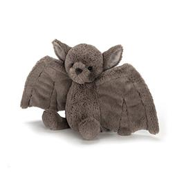 Jellycat Bashful Bat Stuffed Animal, Medium, 10 inches