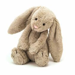 Jellycat Bashful Beige Bunny Stuffed Animal, Medium, 12 inch